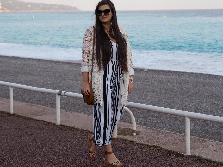 AX Striped Jumpsuit - Rachel Nicole UK Fashion Blogger 1