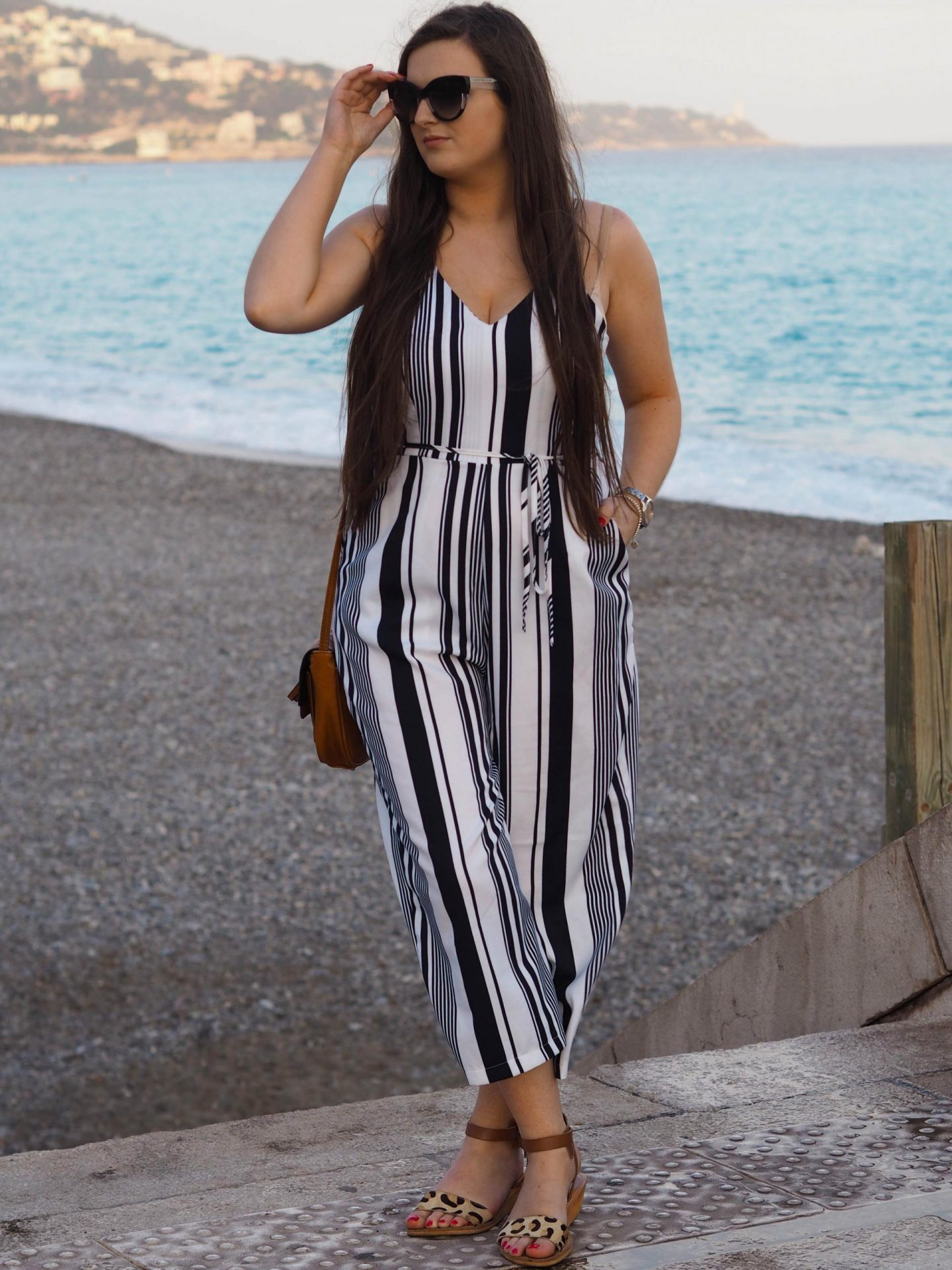 AX Striped Jumpsuit - Rachel Nicole UK Fashion Blogger 3