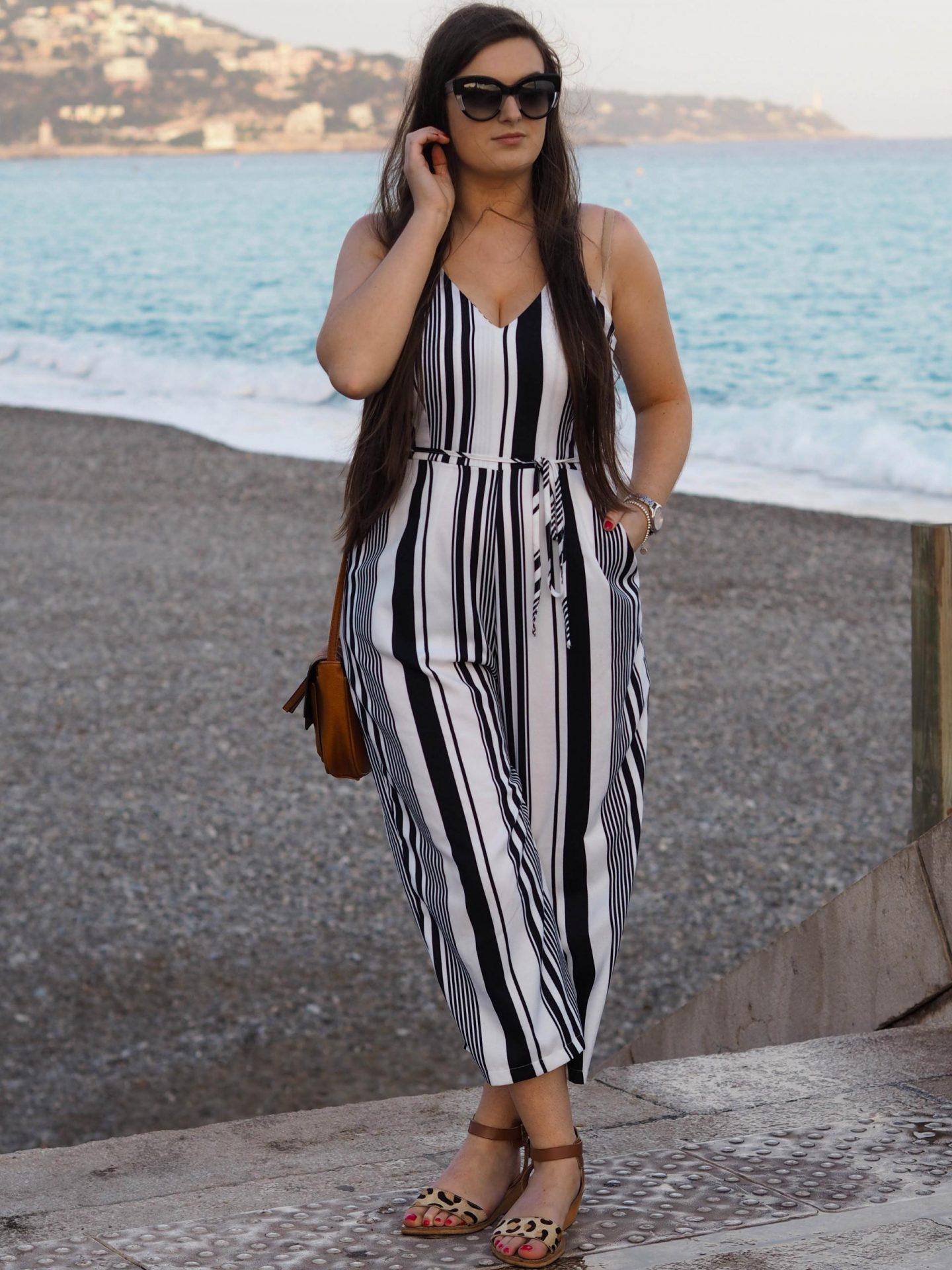 AX Striped Jumpsuit - Rachel Nicole UK Fashion Blogger 4
