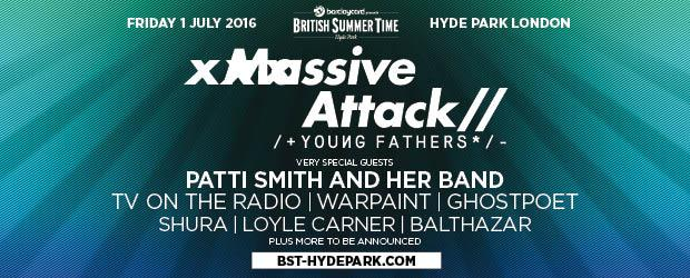 Win Tickets to see Massive Attack at British Summer Time, Hyde Park 2016
