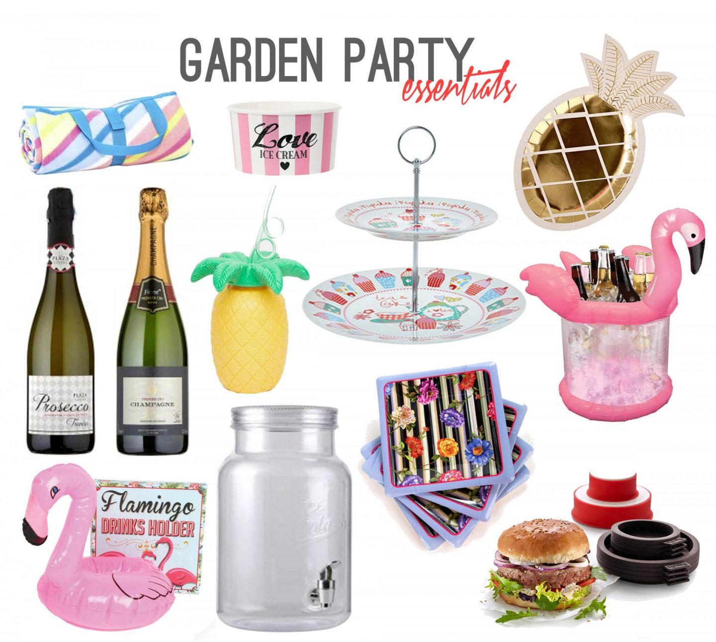 Garden Party Essentials - Rachel Nicole UK Lifestyle Blogger