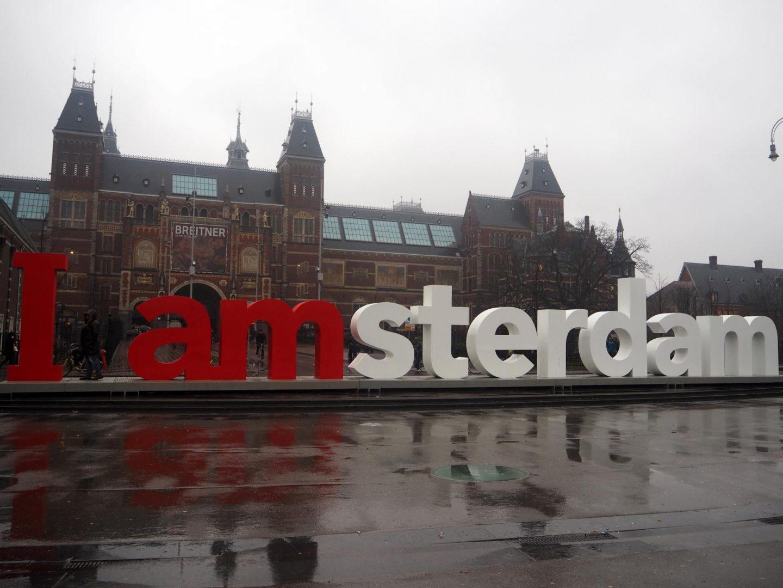 Amsterdam, Flower Market - Rachel UK Style and Travel Blogger 1