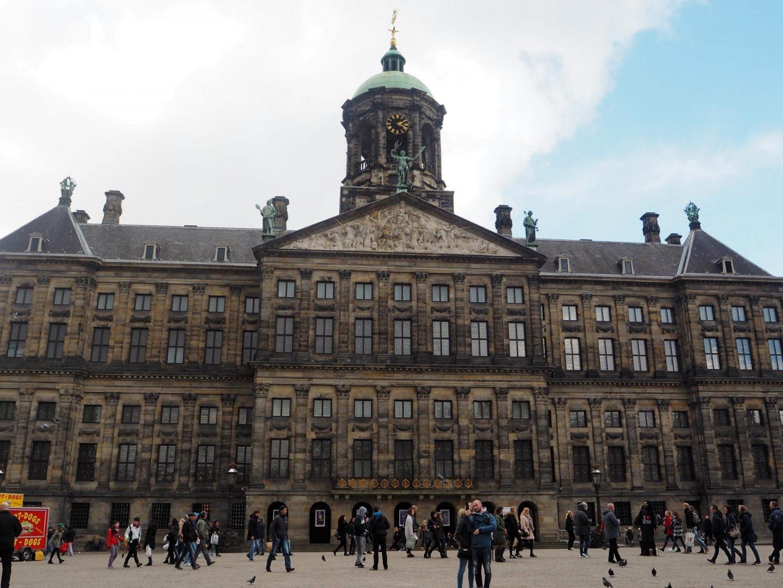 Three Days in Amsterdam, Dam Square - Rachel Nicole UK Travel Blogger
