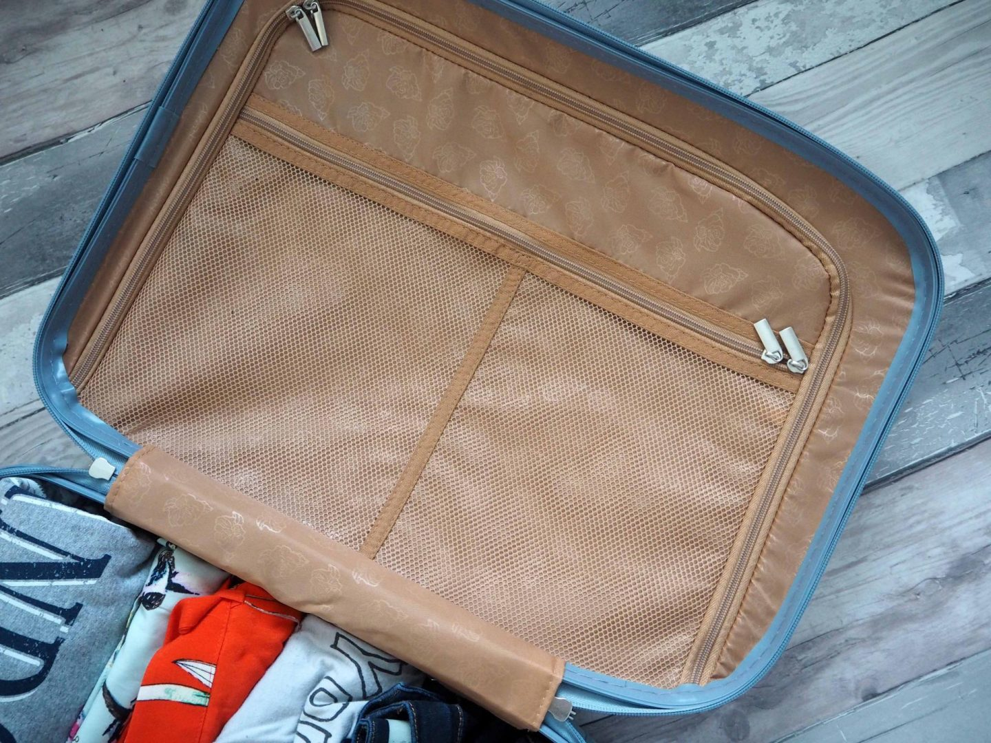 Tips for packing Hand Luggage only, House of Fraser Suitcase - Rachel Nicole UK Blogger 2