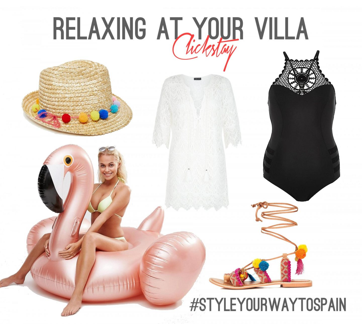 Relaxing at your Clickstay Villa - Rachel Nicole Travel and Style Blogger