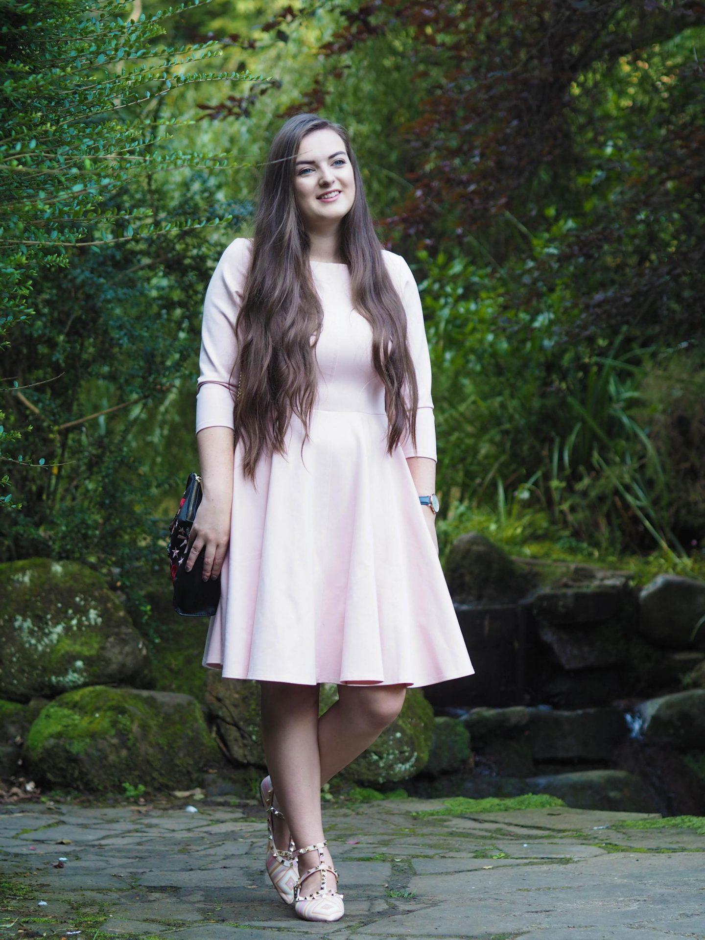 Closet London Pink Princess Dress - Rachel Nicole UK Fashion Blogger