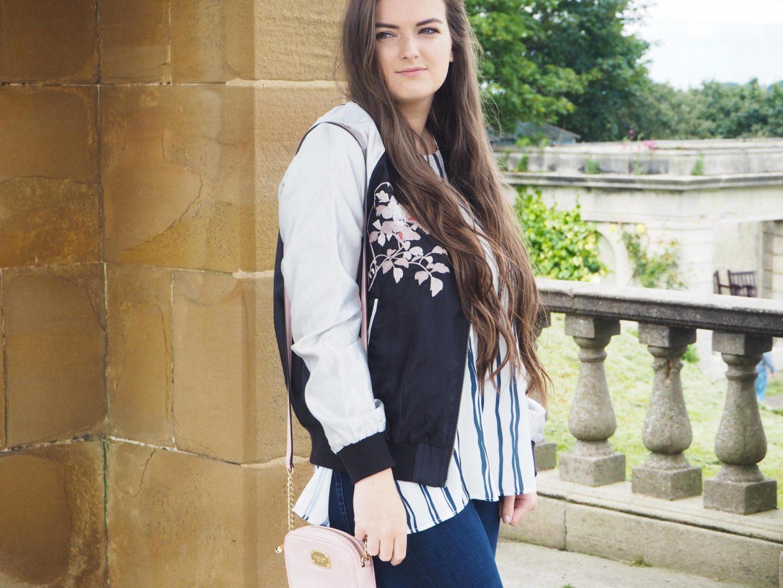 Transitional Trends, Bomber Jacket - Rachel Nicole UK Blogger
