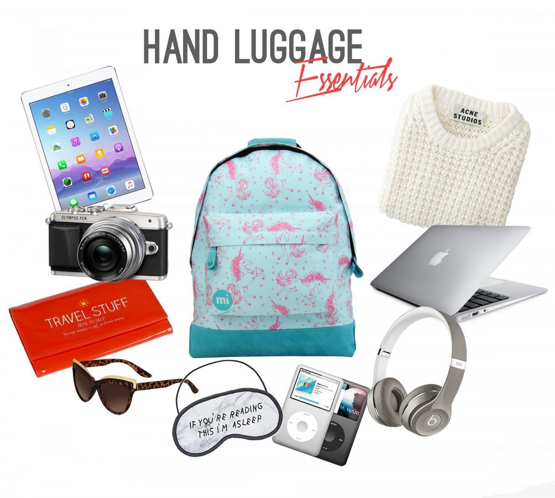 hand luggage-flight-essentials-rachel-nicole-travel-blogger