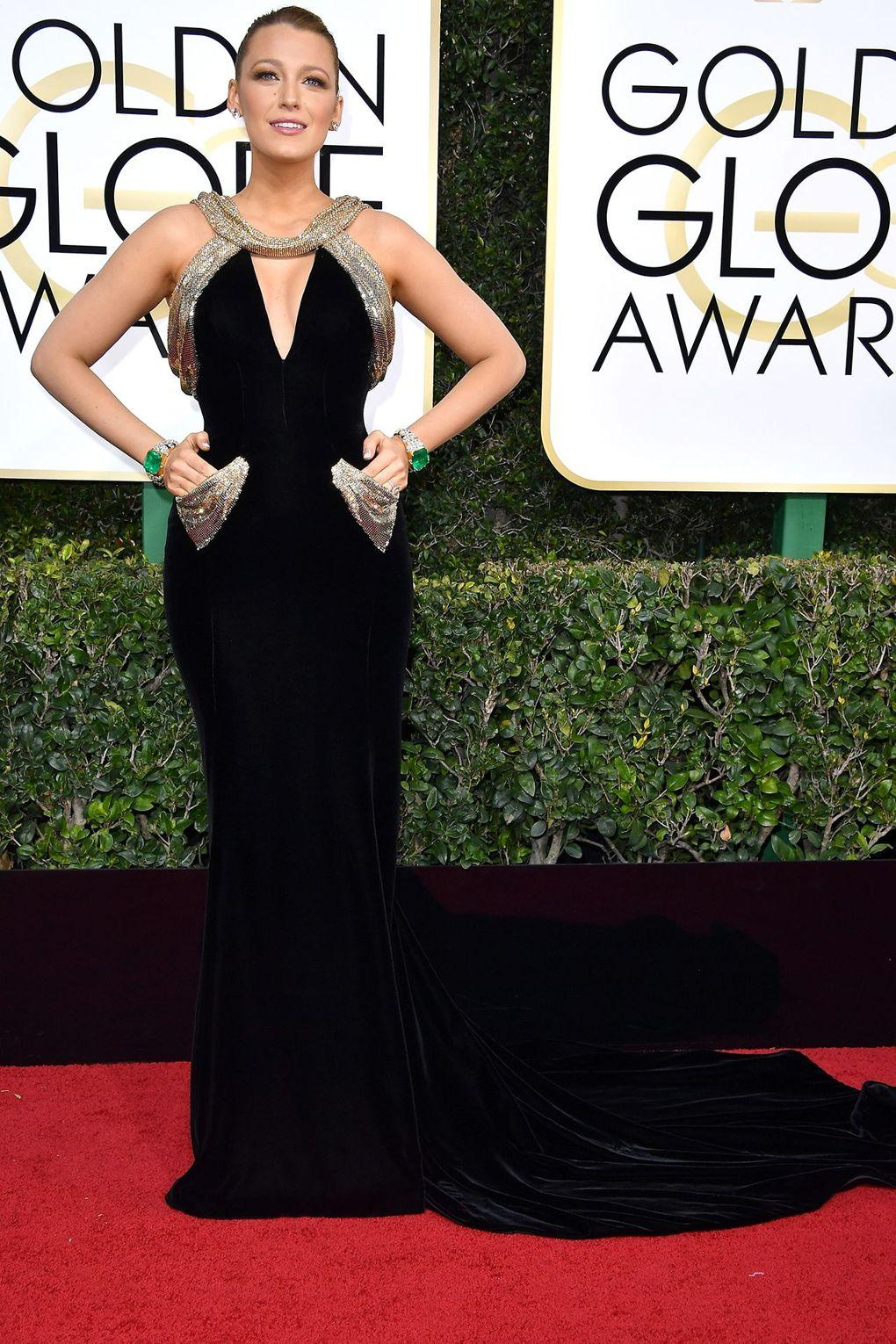 The Best Dressed from Golden Globe Awards - Blake Lively
