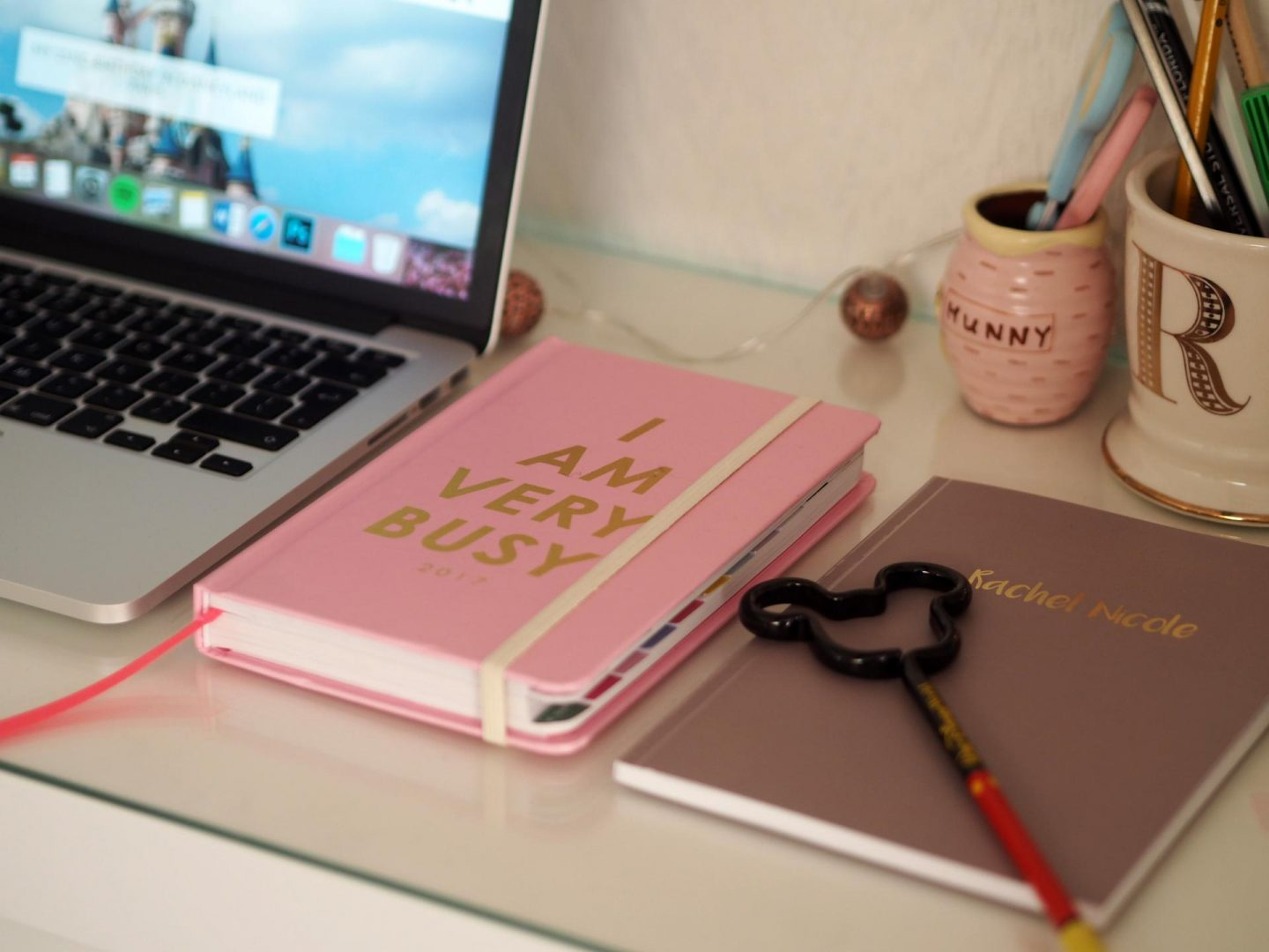Top Tips for Working from a home office - Rachel Nicole UK Blogger