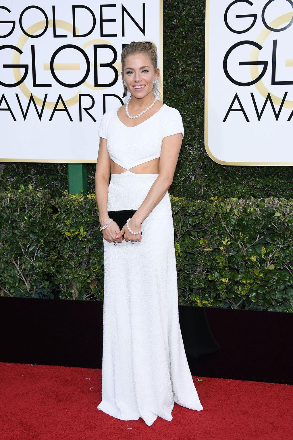 The Best Dressed from Golden Globe Awards - Sienna Miller
