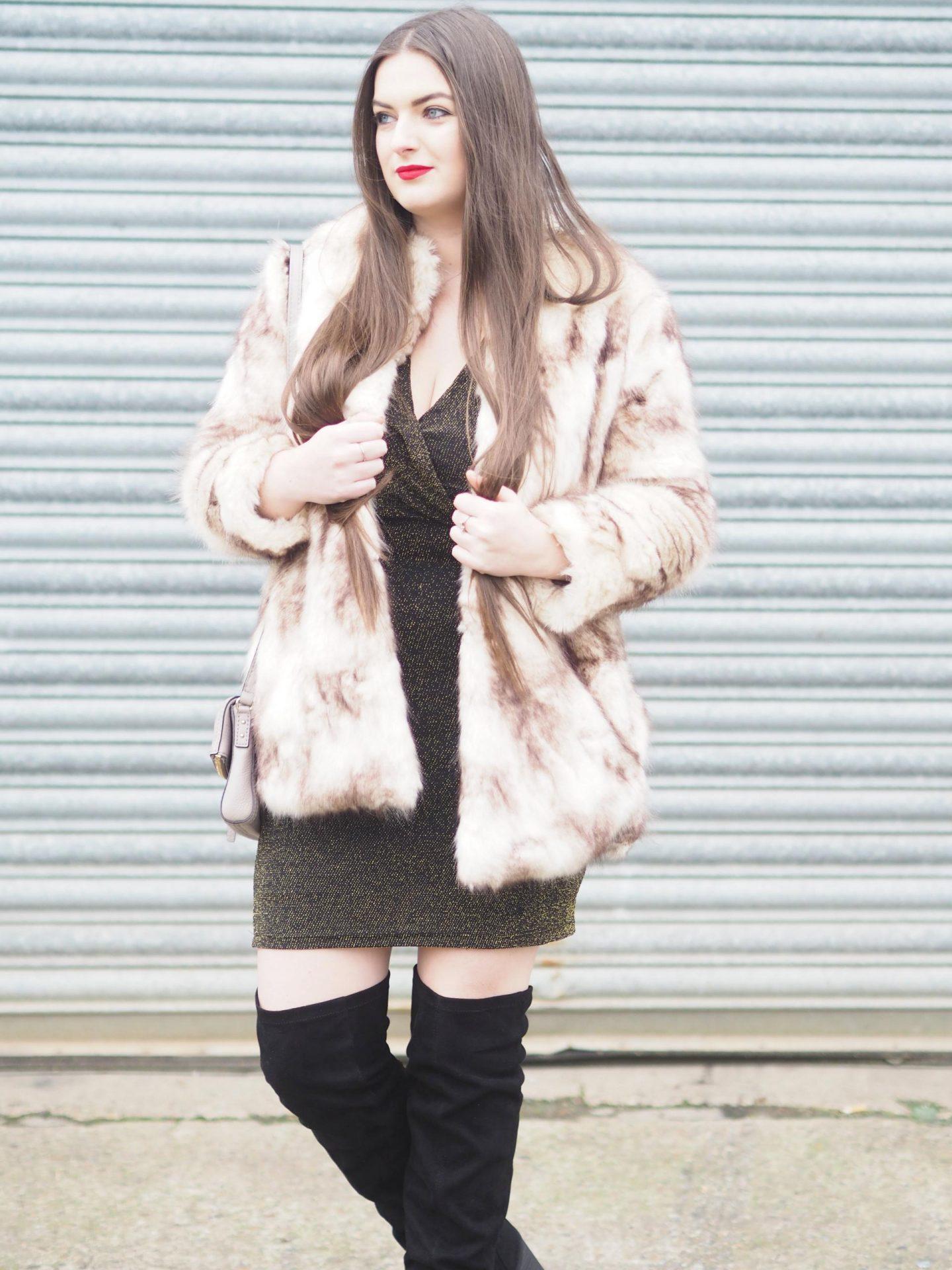 January Review - Blue Vanilla Dress - Rachel Nicole UK Blogger
