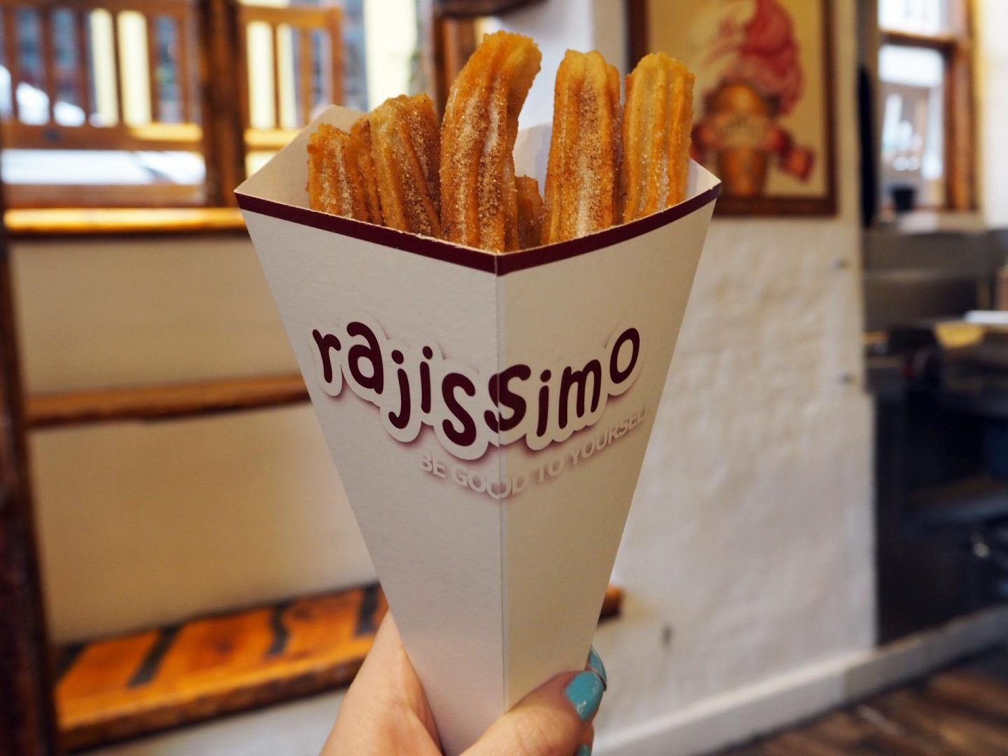 Copenhagen Food Diary - Churros in Nyhavn