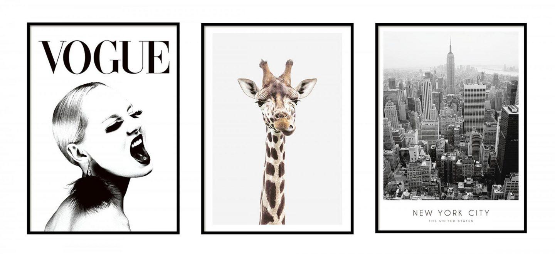Decorating with Desenio Prints and Frames & Discount Code - Rachel Nicole UK Blogger