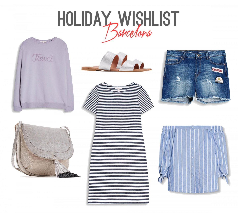 My Summer Fashion Wishlist for Visiting Barcelona - Rachel Nicole UK Blogger
