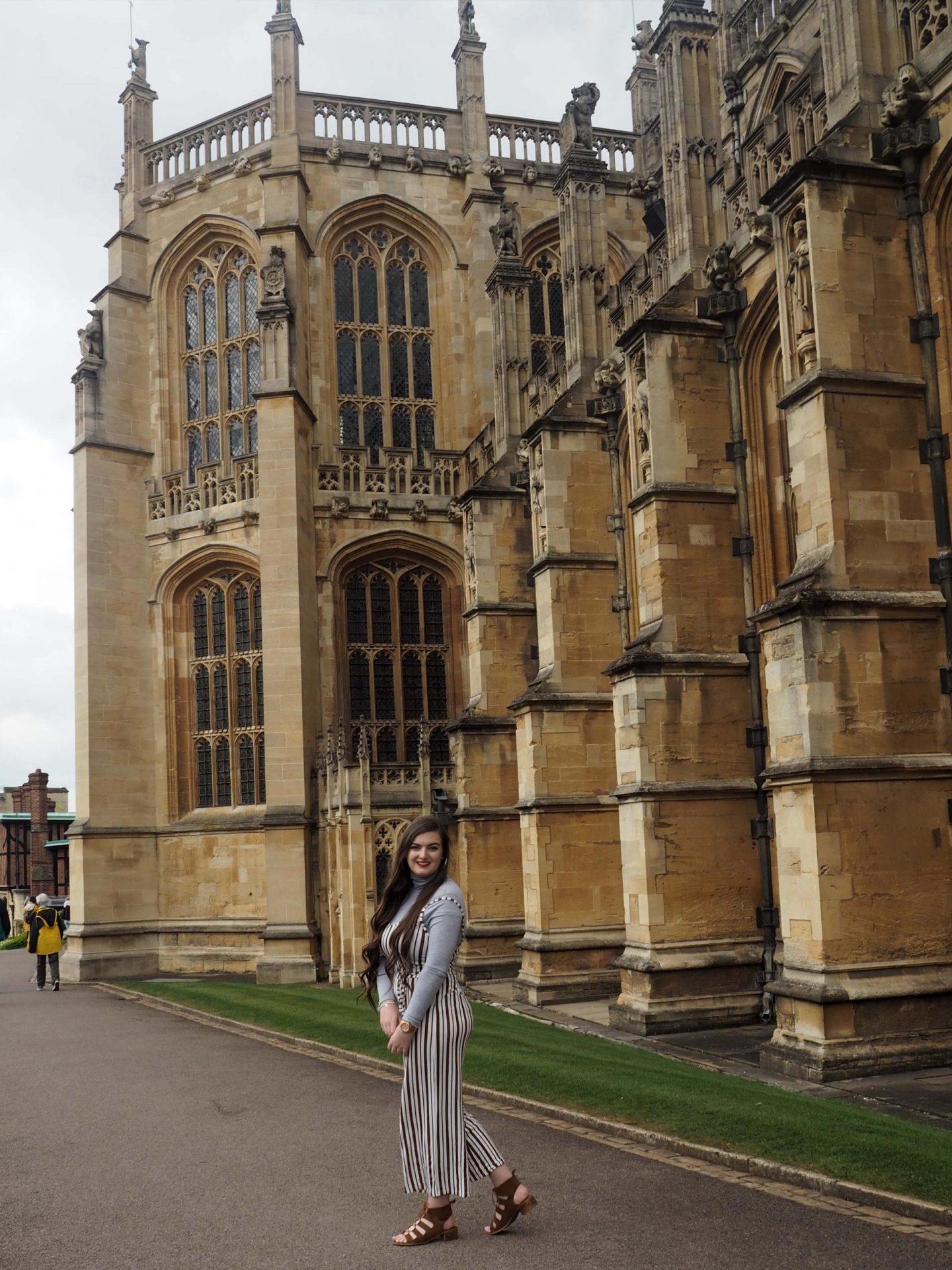 My Spring Adventure at Windsor Castle with Boohoo.com - Rachel Nicole