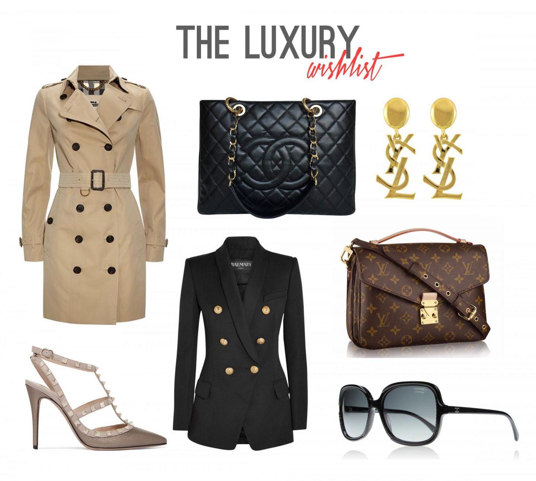 Luxury Fashion Wishlist - Rachel Nicole UK Blogger