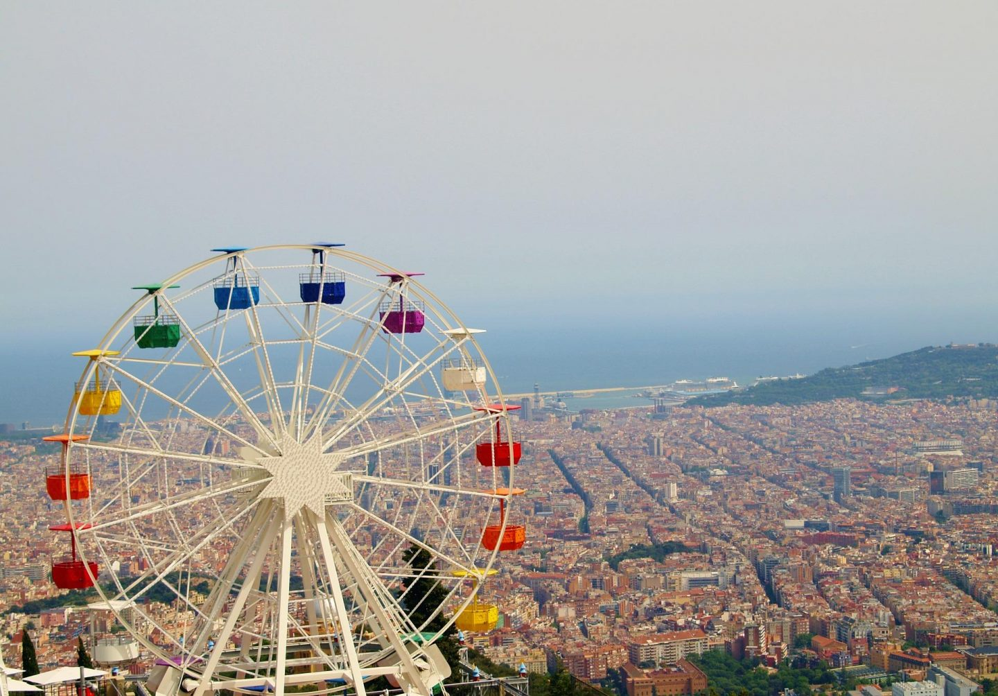 Six Theme Parks to visit in Spain on a Thrill Seeking Holiday, Tibidabo Theme Park - Rachel Nicole UK