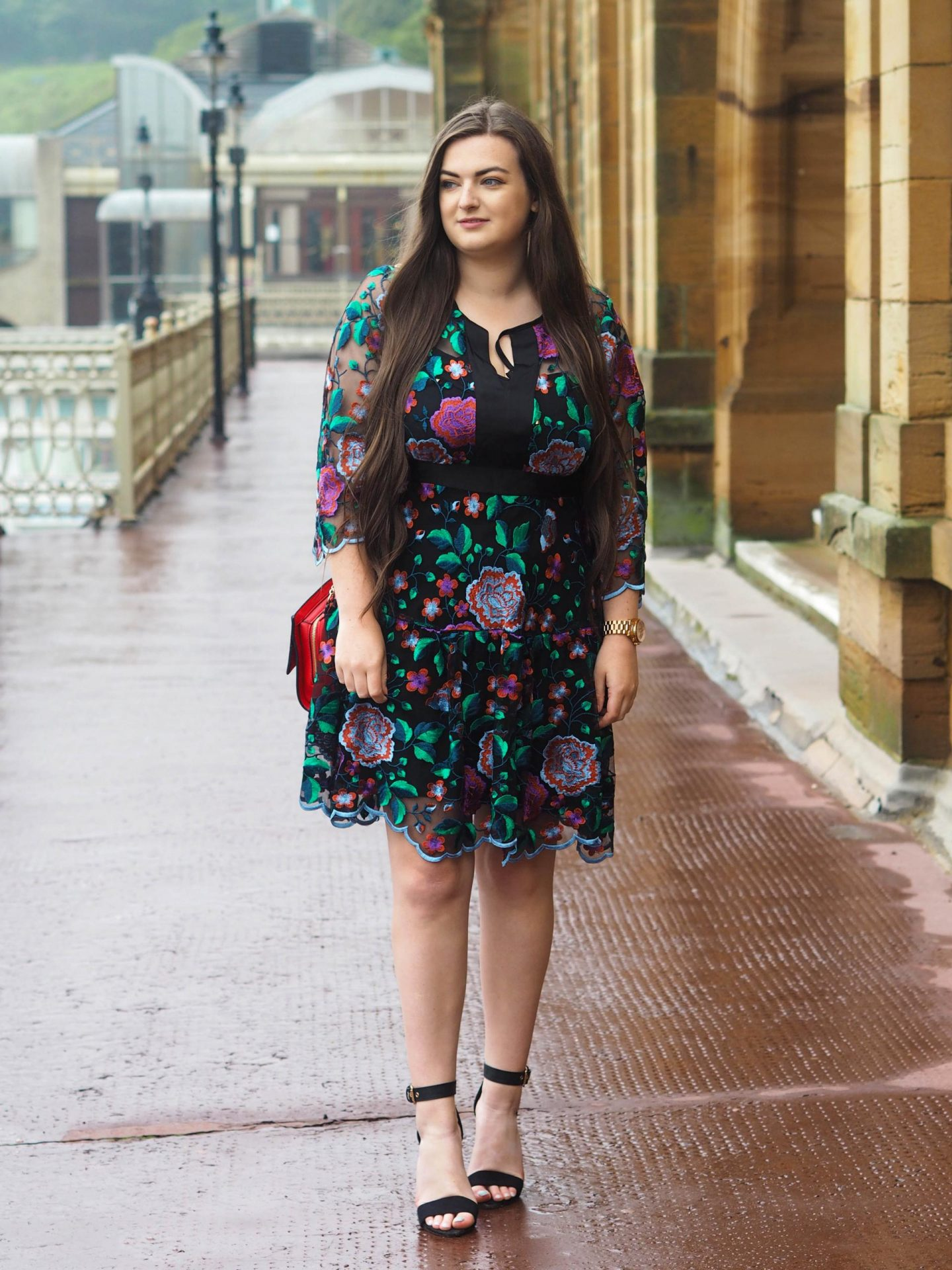 Embroidered Florals with Closet London