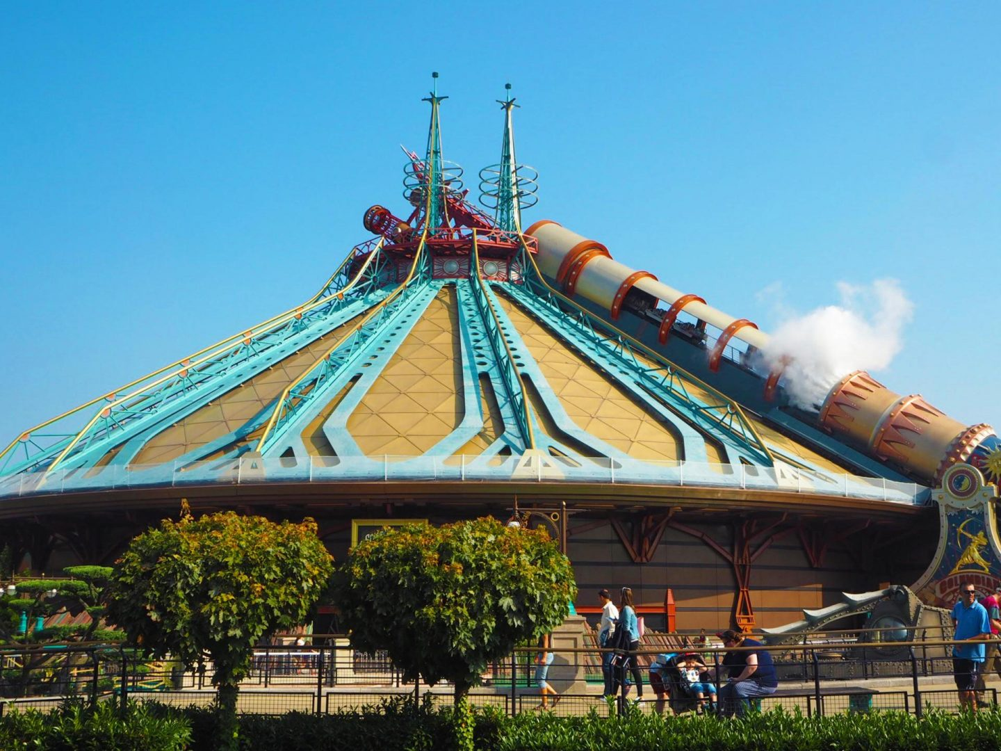 25th Anniversary Celebrations at Disneyland Paris - Hyperspace Mountain