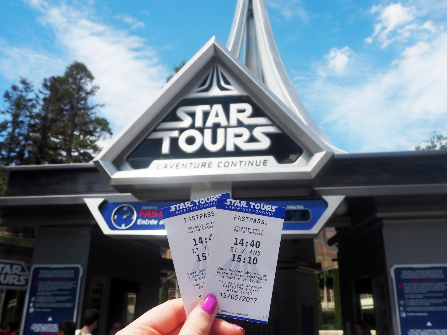 25th Anniversary Celebrations at Disneyland Paris - Star Tours