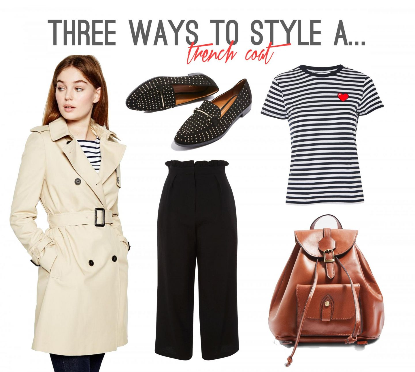 Three Ways to Style a Trench Coat - Casual Wear - Rachel Nicole UK