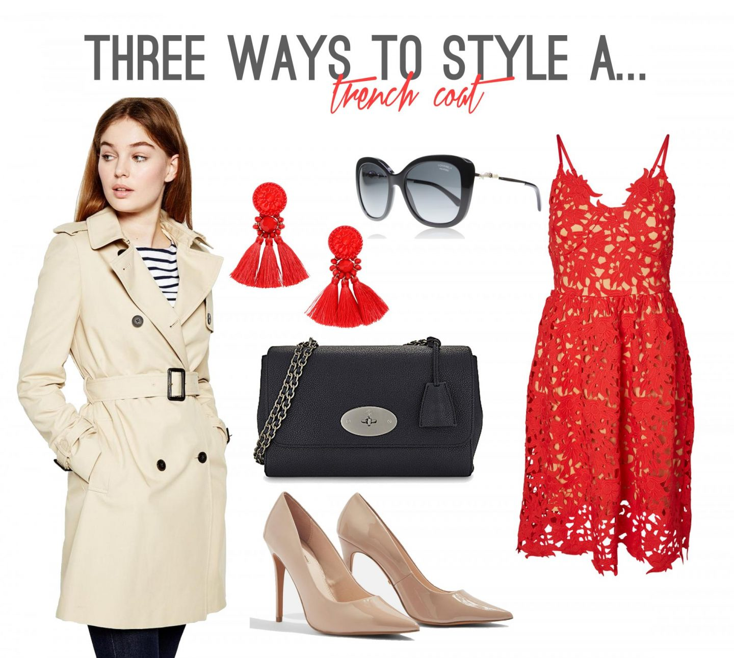 Three Ways to Style a Trench Coat - Occasion wear & Weddings - Rachel Nicole UK