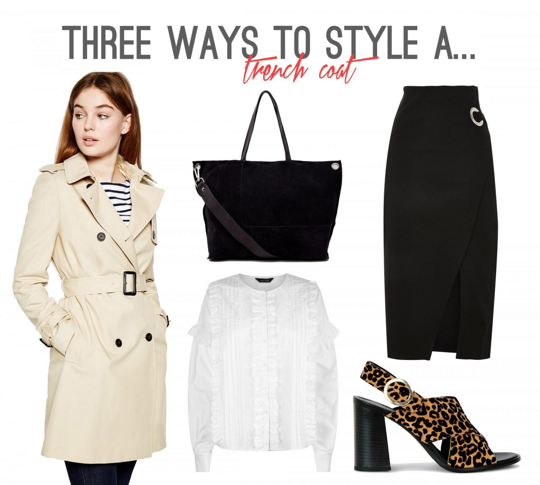 Three Ways to Style a Trench Coat - Workwear - Rachel Nicole