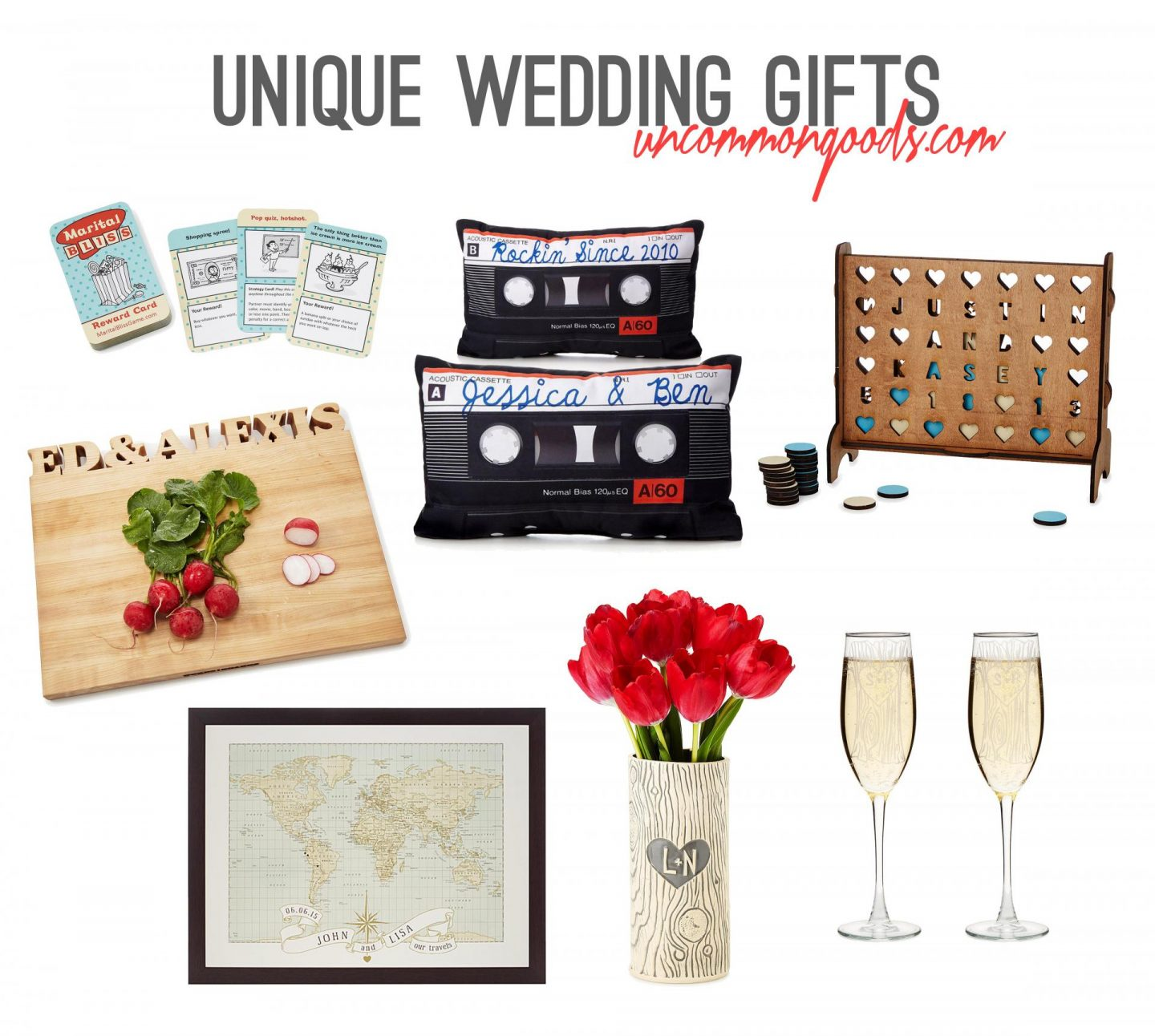 Unique Wedding Gift Ideas with UncommonGoods