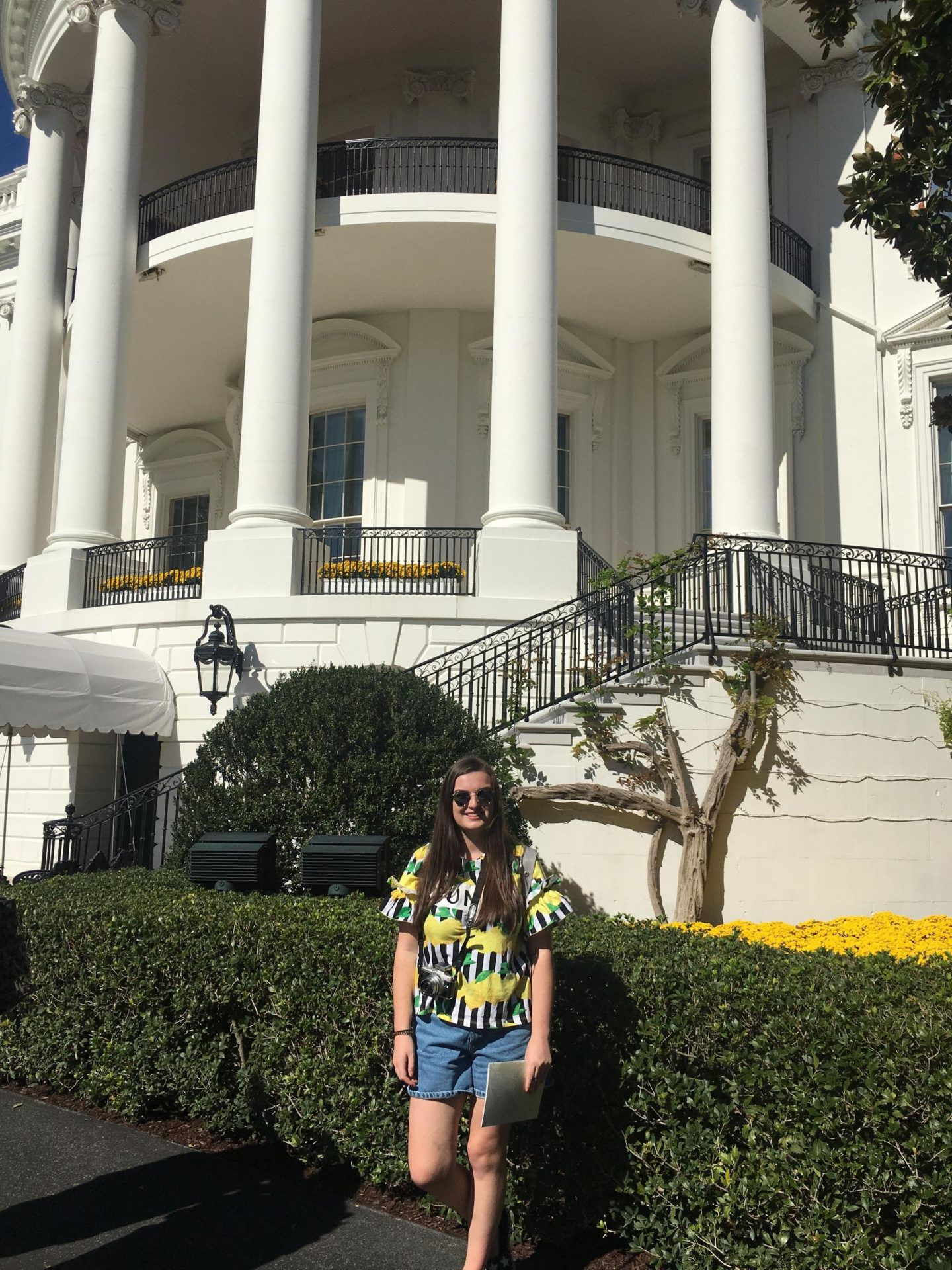 The Fall Garden Tour, The White House, Washington DC - Rachel Nicole UK Travel Blogger