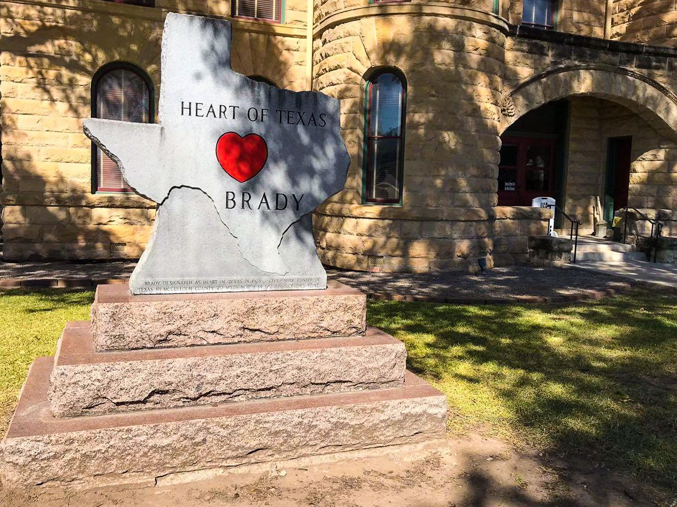 Brady Heart of Texas - Rachel Nicole UK Travel Blogger