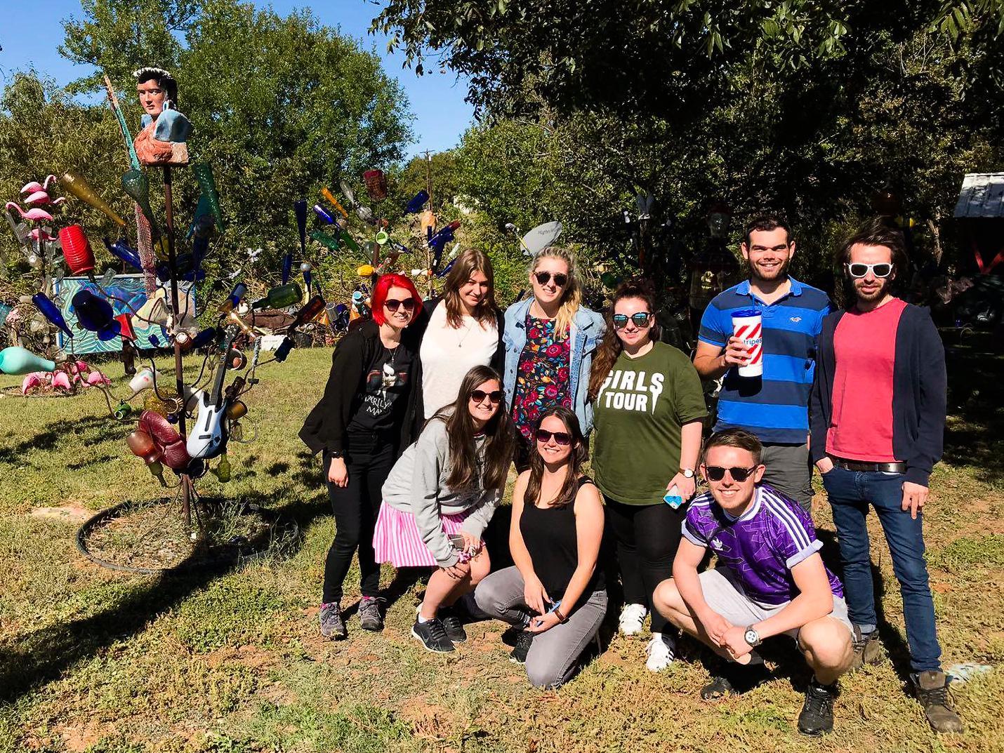 Glass Garden Texas - Rachel Nicole UK Travel Blogger
