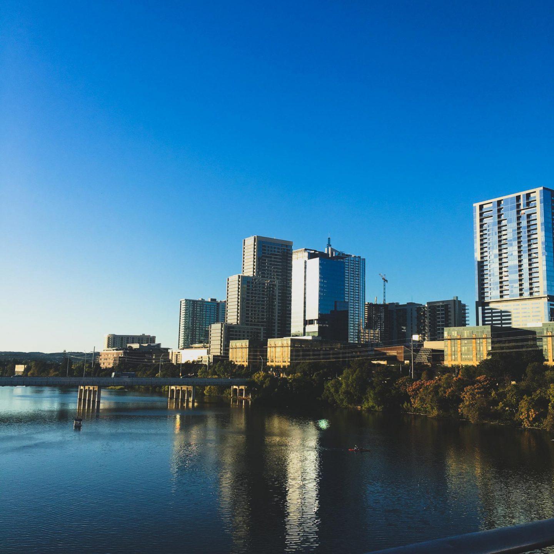Austin, Texas Skyline - Rachel Nicole UK Travel Blogger