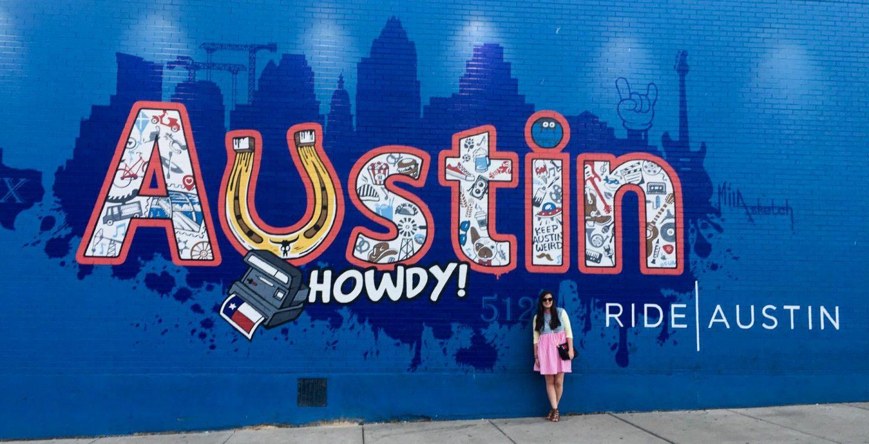 Howdy! Austin Mural Graffiti Street Art - Rachel Nicole UK Travel Blogger