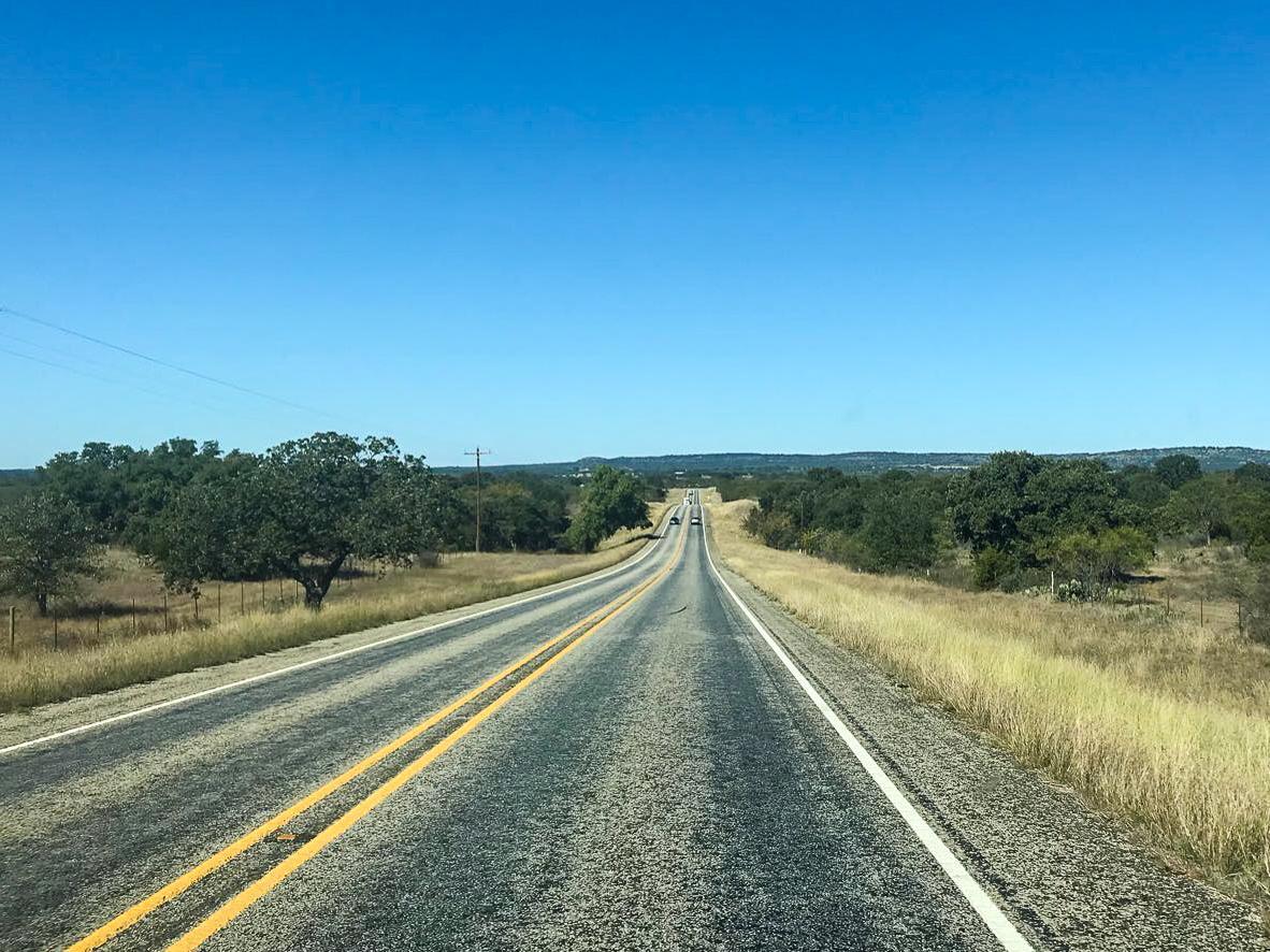 Driving through Texas - Rachel Nicole UK Travel Blogger