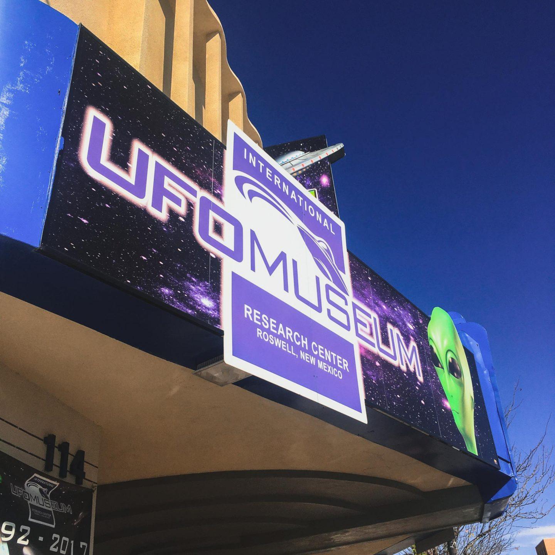 UFO Museum, Roswell - Carlsbad, Roswell & Santa Fe #7