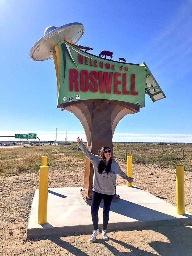 Roswell Sign - Carlsbad, Roswell & Santa Fe #7
