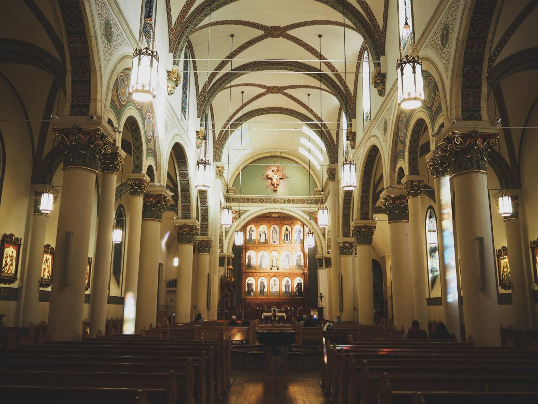 Santa Fe Cathedral - Carlsbad, Roswell & Santa Fe #7