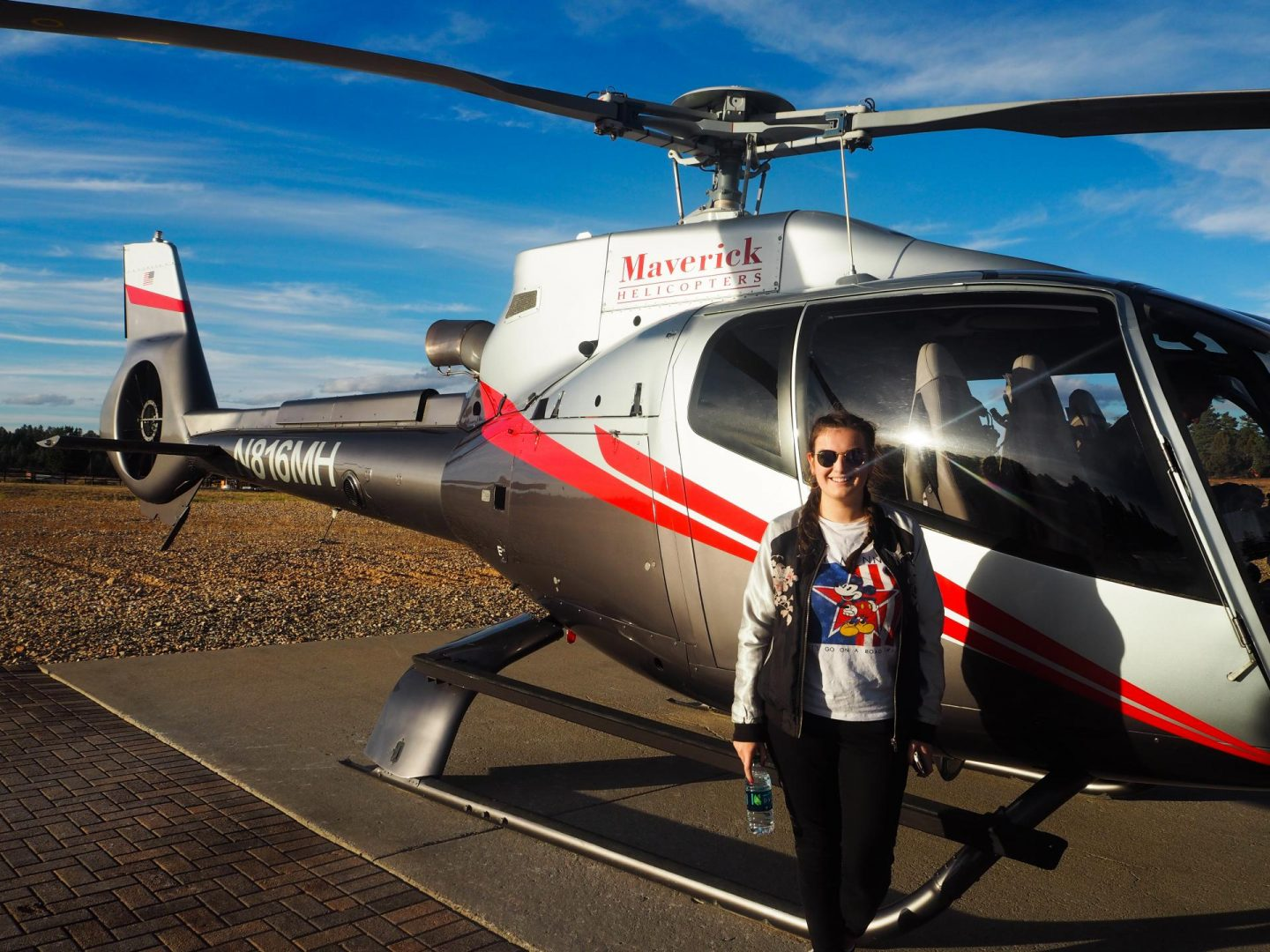 The Grand Canyon Helicopter Ride - Rachel Nicole UK Blogger