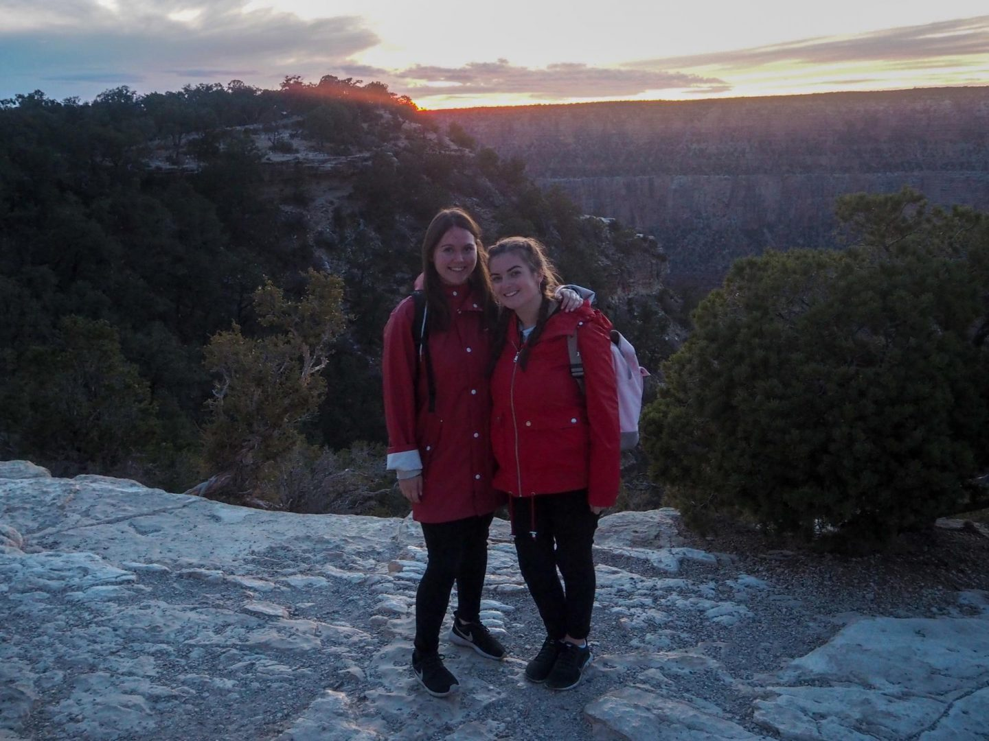 The Grand Canyon Sunset - Rachel Nicole UK Blogger