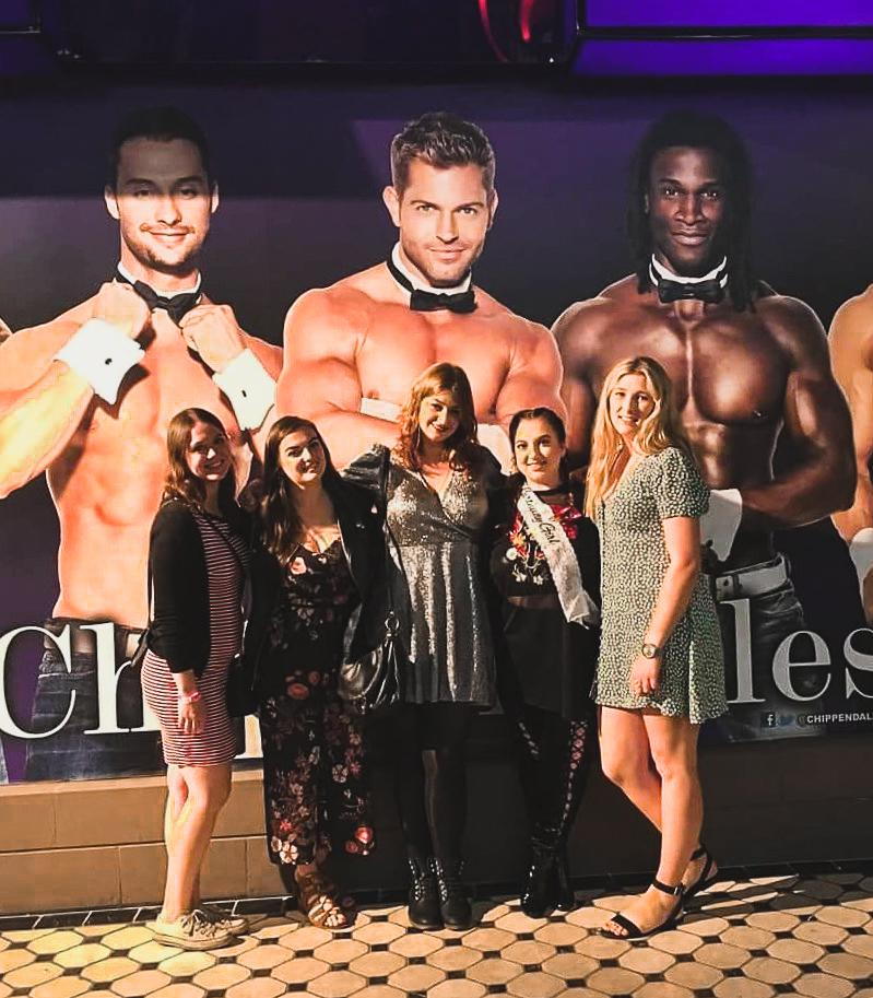 The Chippendales, Las Vegas USA Diary - Rachel Nicole UK Blogger