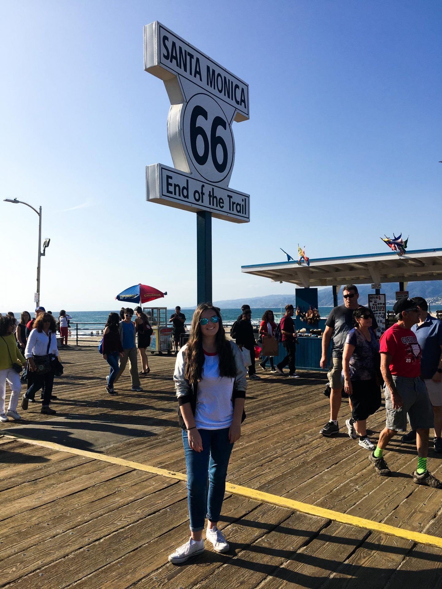 Santa Monica Pier, End of Route 66 - Los Angeles Travel Diary - Rachel Nicole UK Travel Blogger