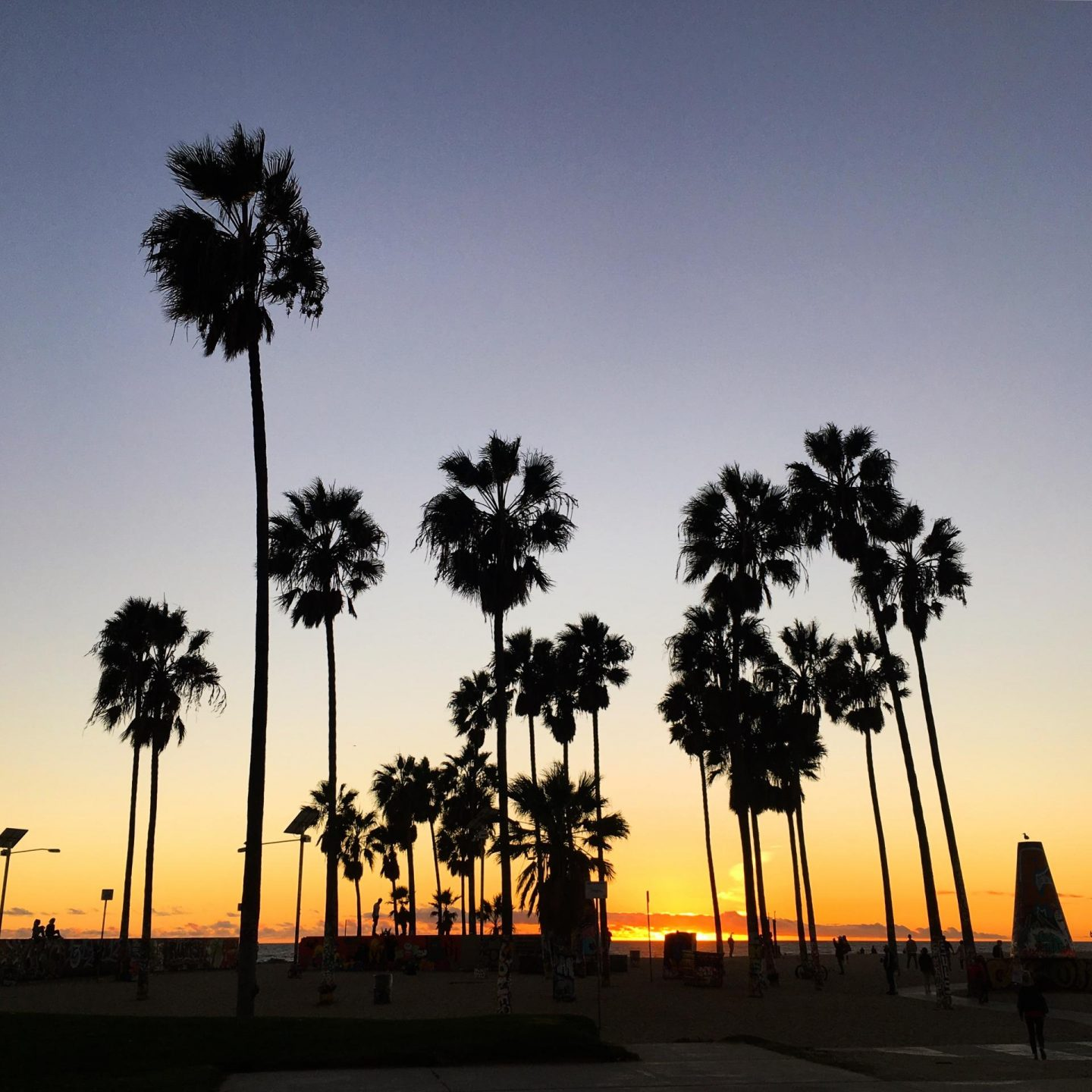 Venice Beach Sunset, USA Diary - Rachel Nicole UK Blogger