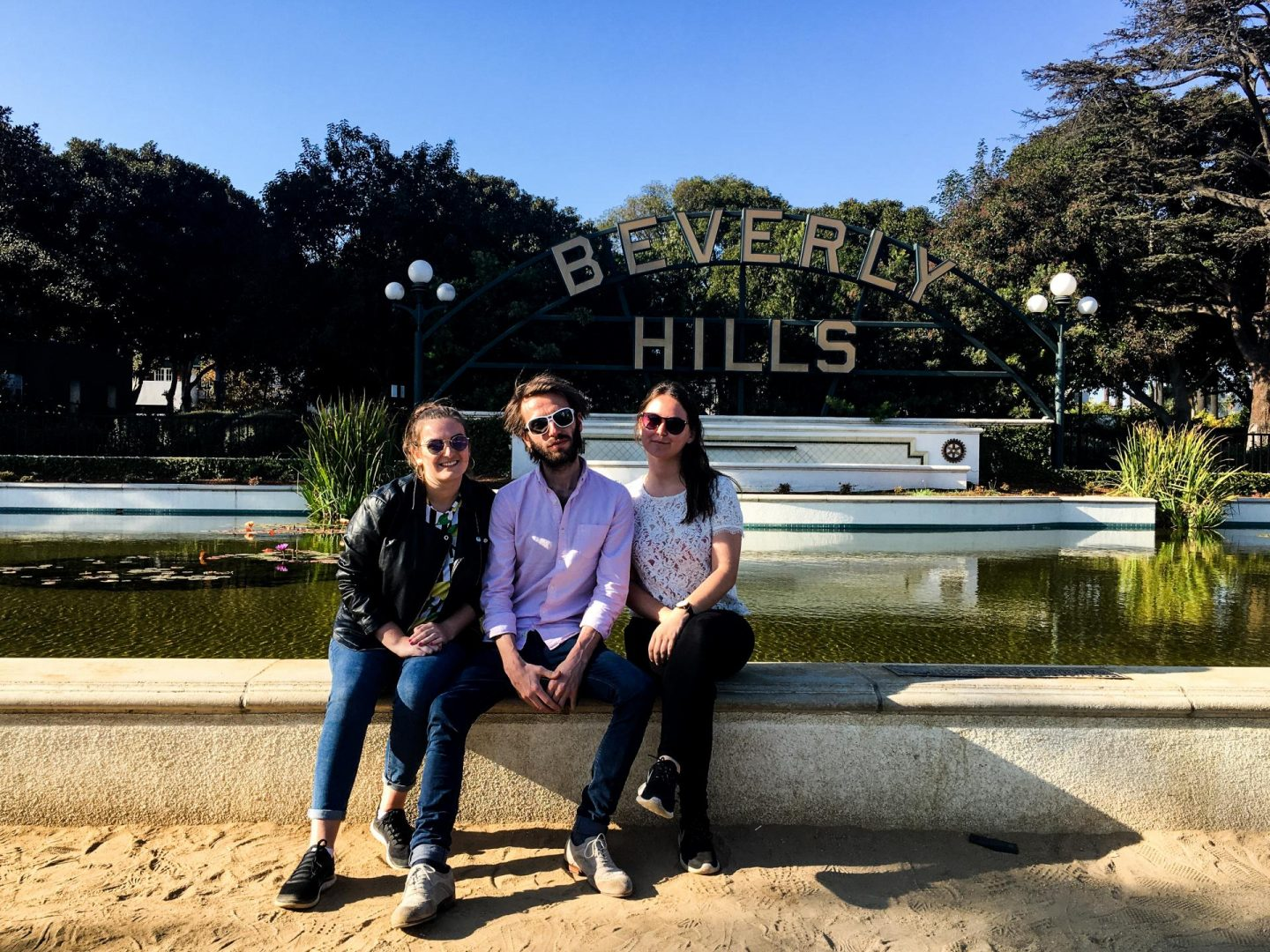Beverly Hills Sign - Los Angeles Travel Diary - Rachel Nicole UK Travel Blogger