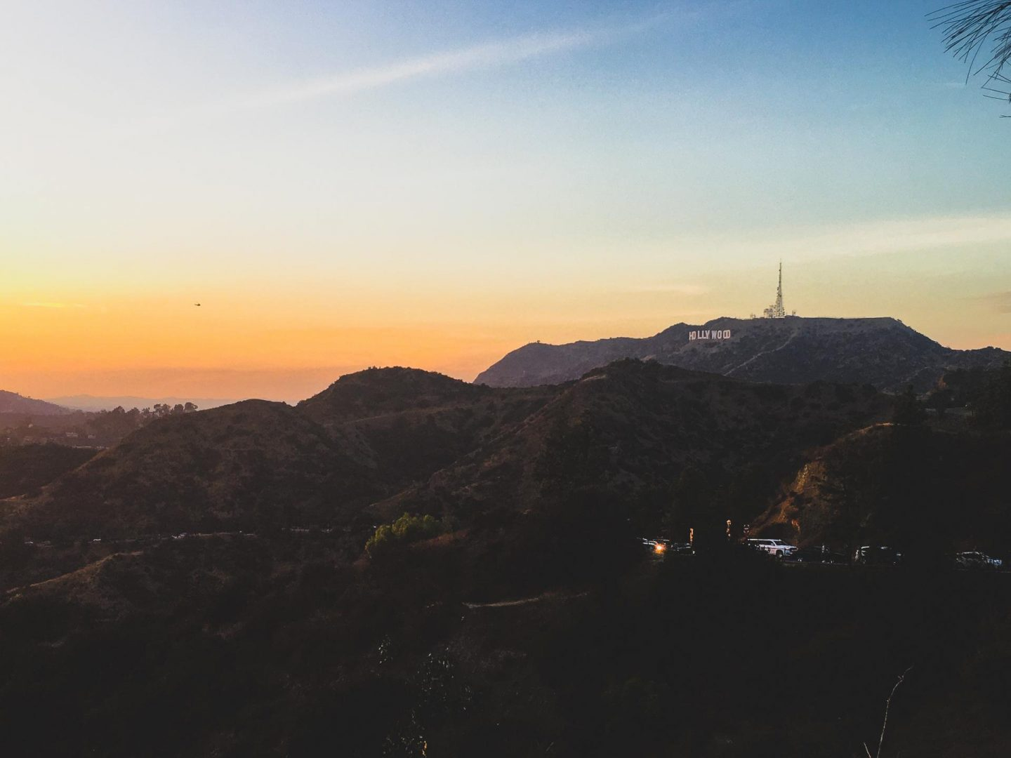 Hollywood Sign from The Griffith's Observatory - - Los Angeles Travel Diary - Rachel Nicole UK Travel Blogger