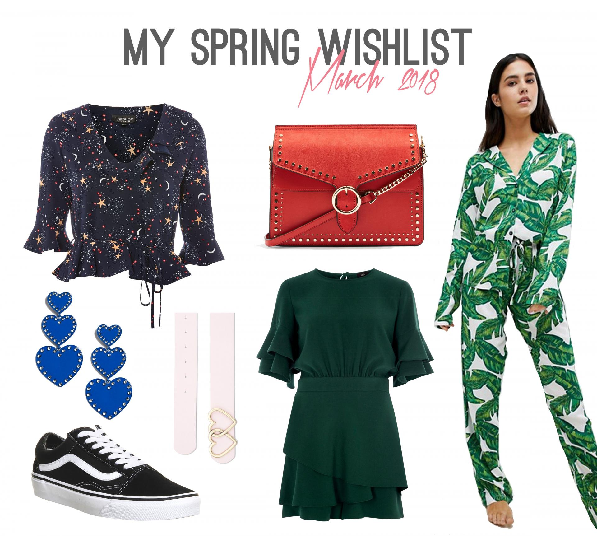 My Spring Fashion Wishlist - Rachel Nicole UK Blogger