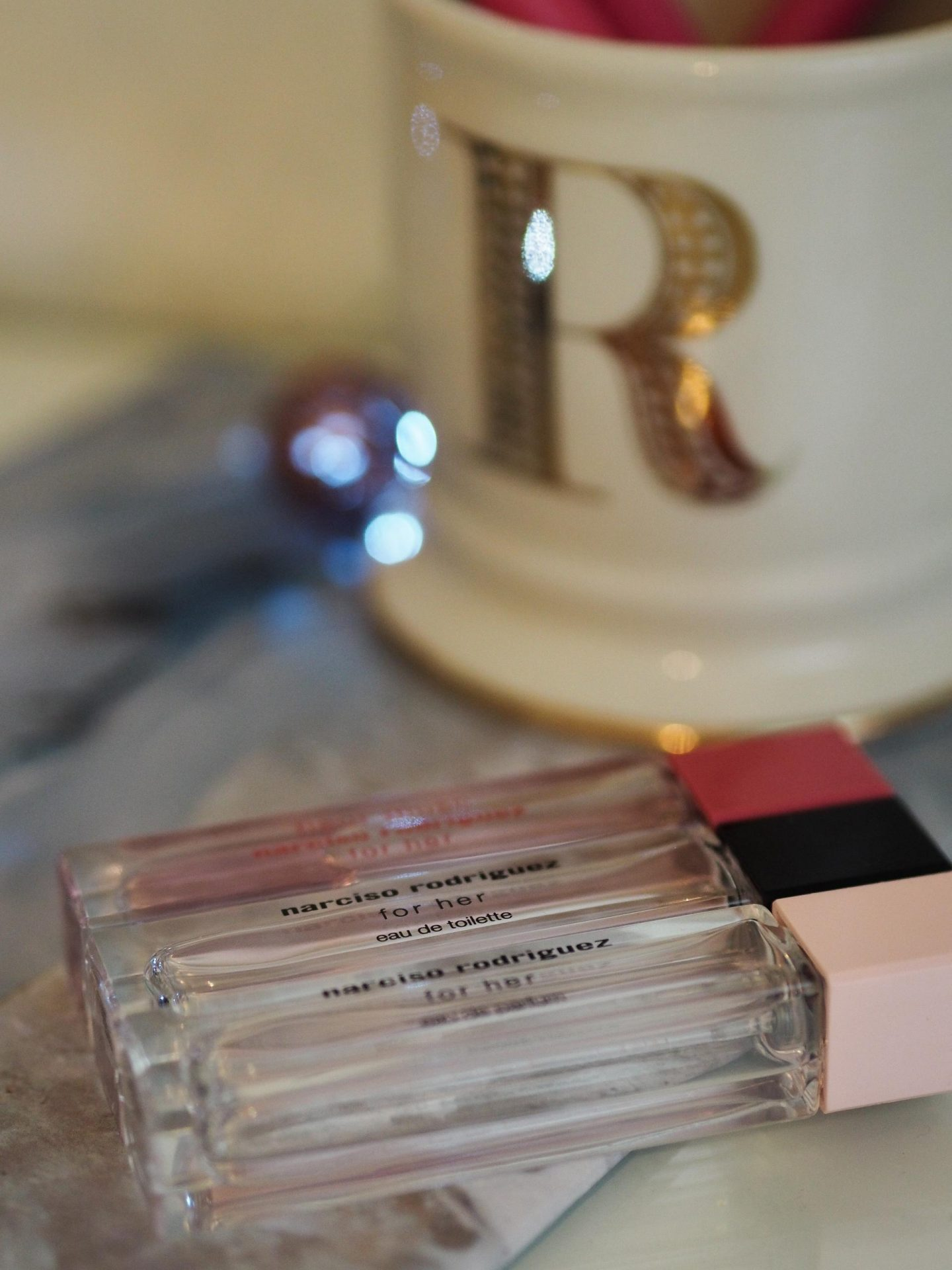 Narciso Rodriguez Perfume Trio, My Current Beauty Favourites - Rachel Nicole UK Blogger