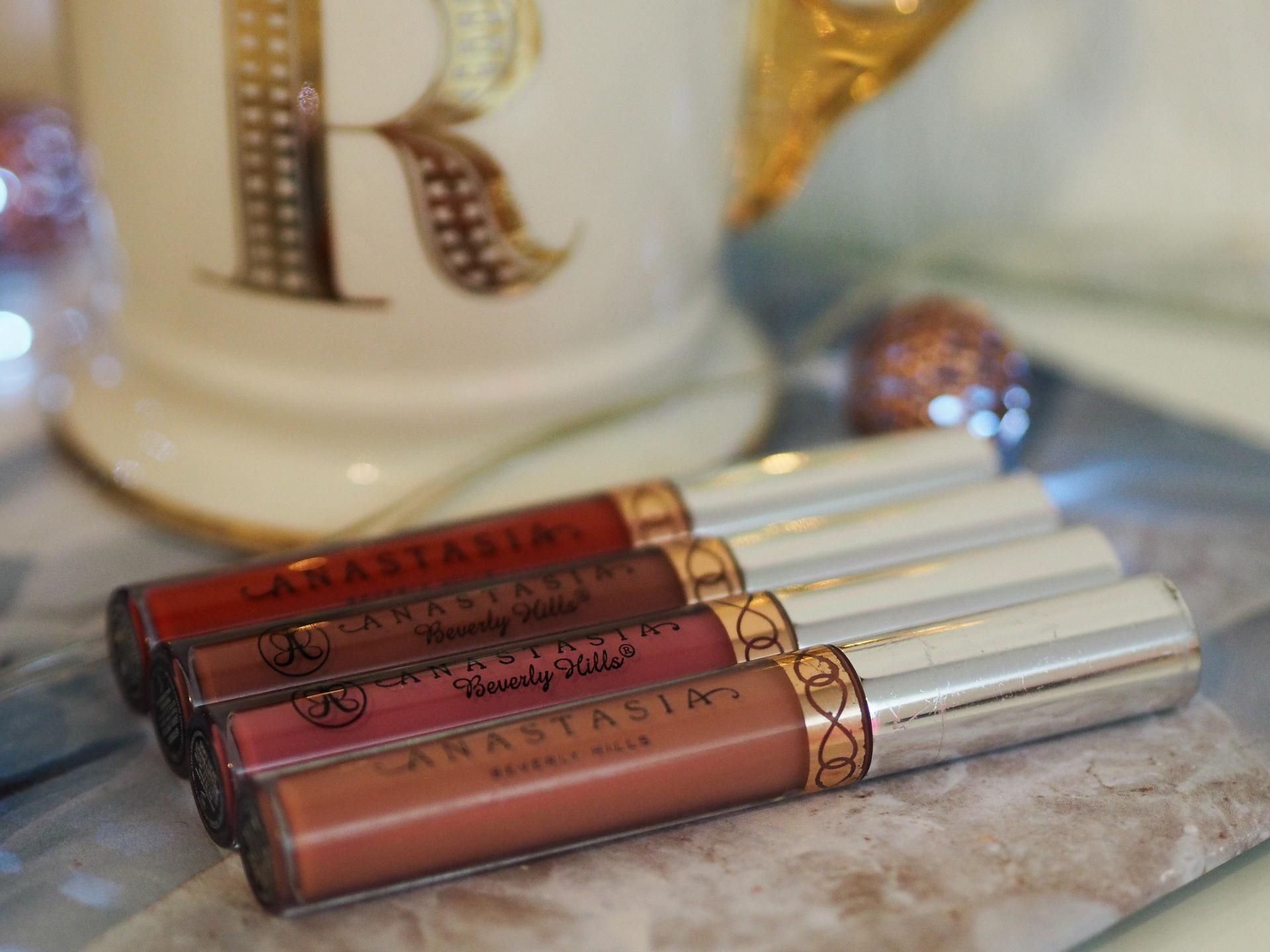 Anastasia Beverly Hills Matte Liquid Lipstick, My Current Beauty Favourites - Rachel Nicole UK Blogger