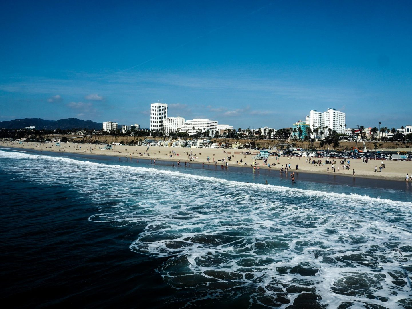 View from Santa Monica Pier - Los Angeles Travel Diary - Rachel Nicole UK Travel Blogger