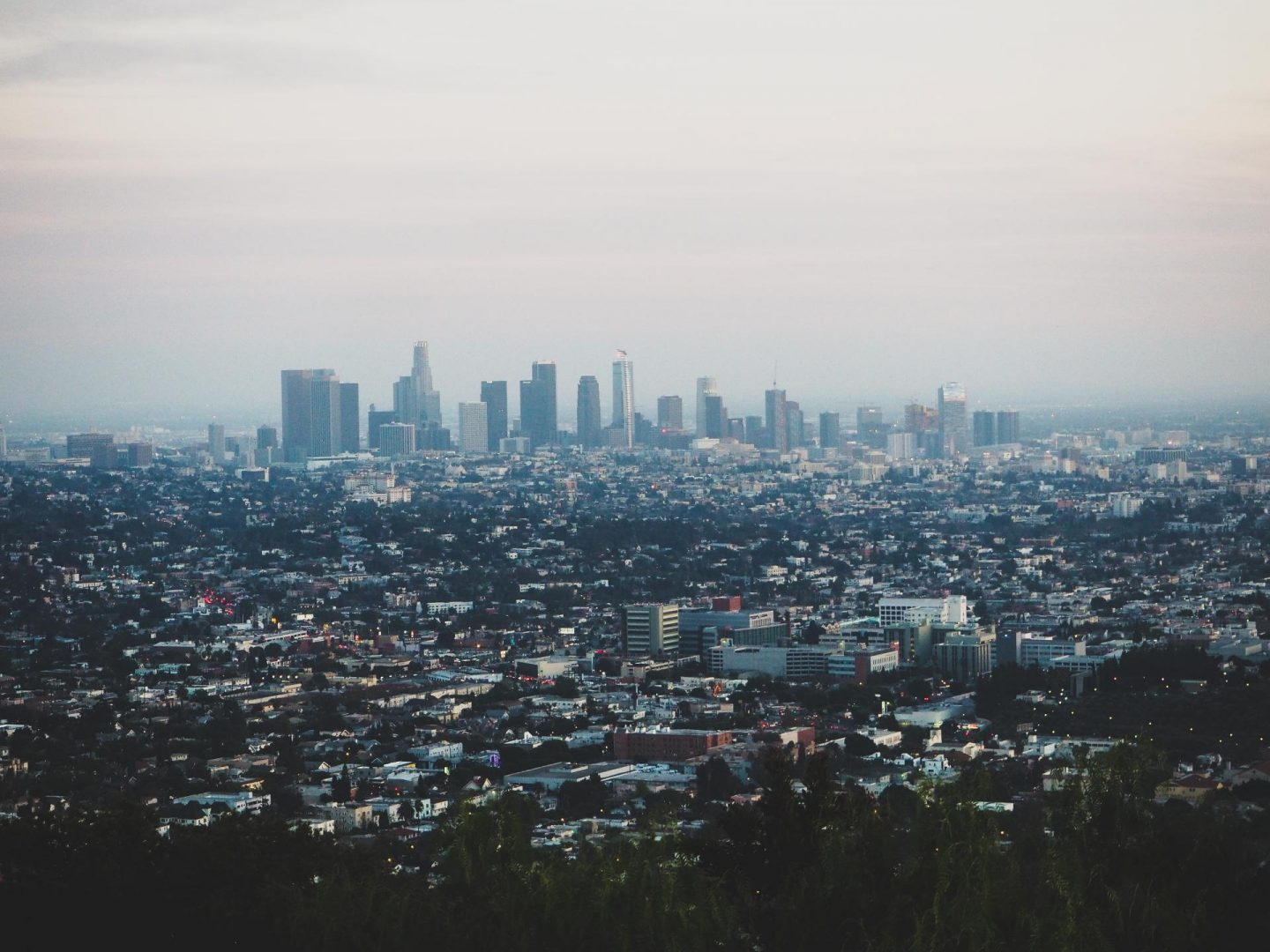 View from The Griffith's Observatory - - Los Angeles Travel Diary - Rachel Nicole UK Travel Blogger